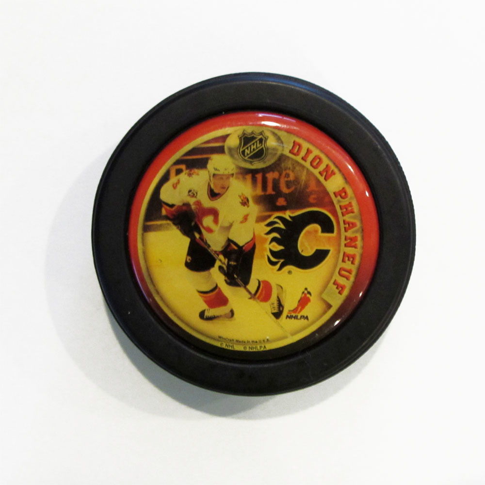 Dion Phaneuf NHL Player Puck