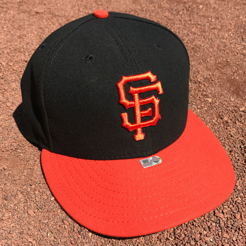 Photo of San Francisco Giants - 2017 Game-Used Cap - Madison Bumgarner (size 7.5)