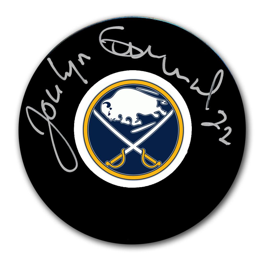 Jocelyn Guevremont Buffalo Sabres Autographed Puck