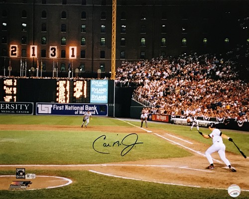 Photo of Cal Ripken Jr. Autographed 16x20 Photo (2131 Consecutive Game)