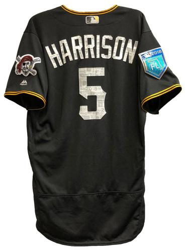 Photo of Josh Harrison Game-Used 2018 Spring Training Jersey