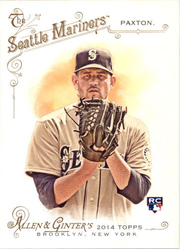 Photo of 2014 Topps Allen and Ginter #151 James Paxton