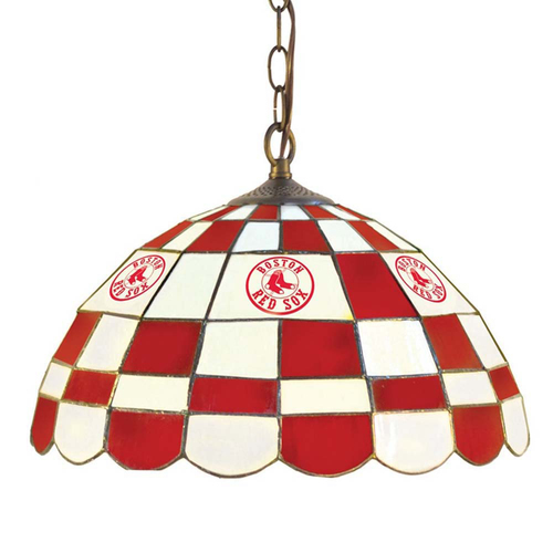 Photo of UMPS CARE AUCTION: Boston Red Sox 16-inch Round Dome Pub Light