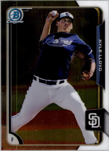 Photo of 2015 Bowman Chrome Prospects #BCP151 Kyle Lloyd