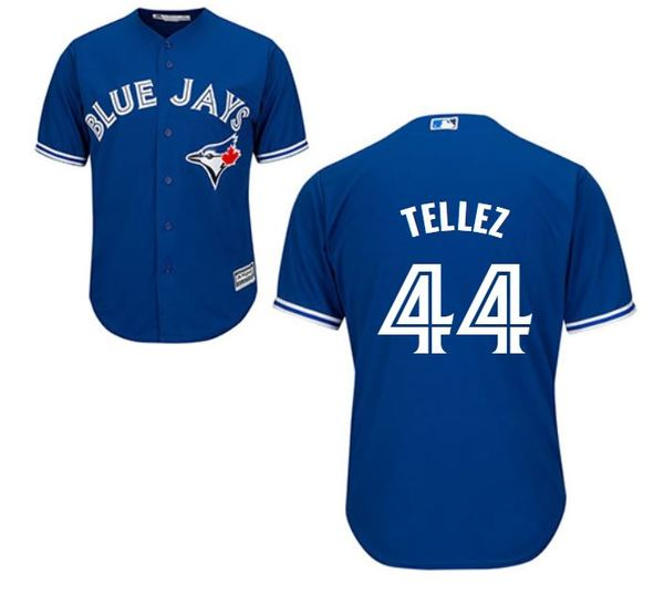 Toronto Blue Jays Rowdy Tellez Replica Alternate Jersey by Majestic