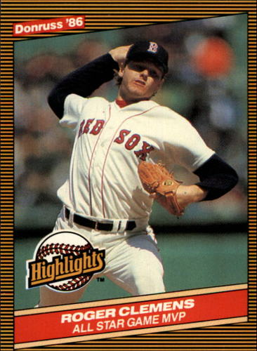Photo of 1986 Donruss Highlights #26 Roger Clemens