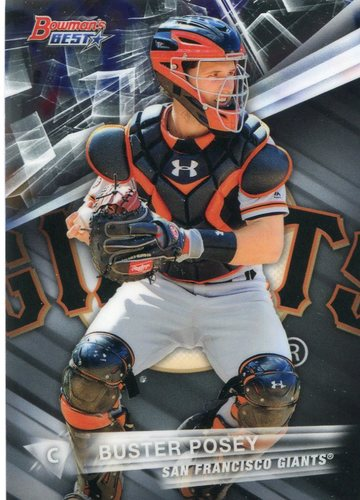 Photo of 2016 Bowman's Best #54 Buster Posey