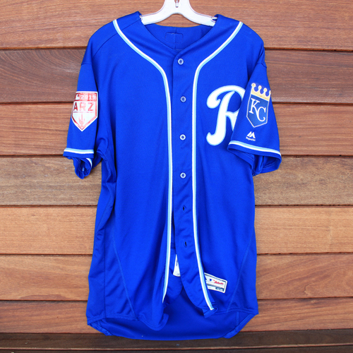 Photo of Team-Issued Spring Training Jersey: Tim Hill (Size 48)