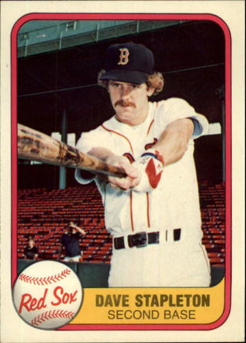 Photo of 1981 Fleer #236 Dave Stapleton RC