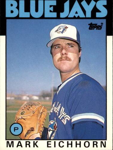 Photo of 1986 Topps Traded #34T Mark Eichhorn
