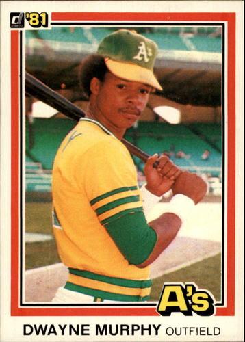 Photo of 1981 Donruss #359 Dwayne Murphy