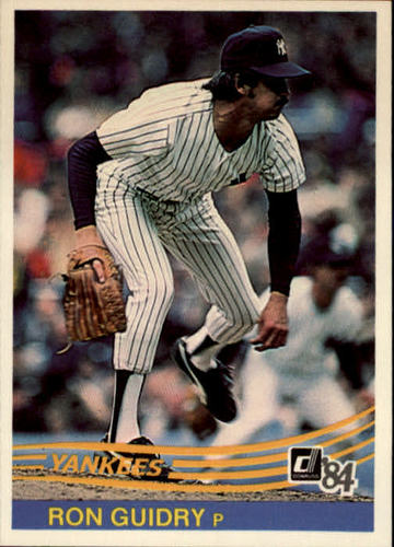 Photo of 1984 Donruss #173 Ron Guidry