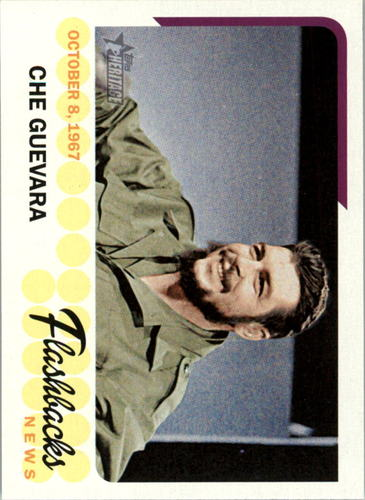 Photo of 2016 Topps Heritage News Flashbacks #NFCG Che Guevara