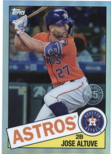 Photo of 2020 Topps Chrome '85 Topps #85TC19 Jose Altuve