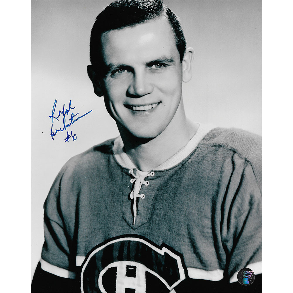 Ralph Backstrom Autographed Montreal Canadiens 8X10 Photo
