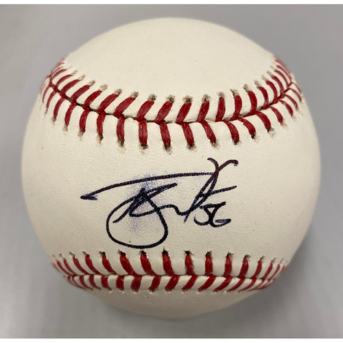 Photo of Giants Community Fund - Smudged Autographed Baseball signed by Tony Watson