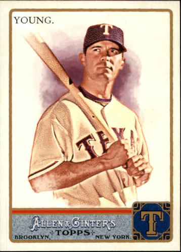 Photo of 2011 Topps Allen and Ginter #142 Michael Young