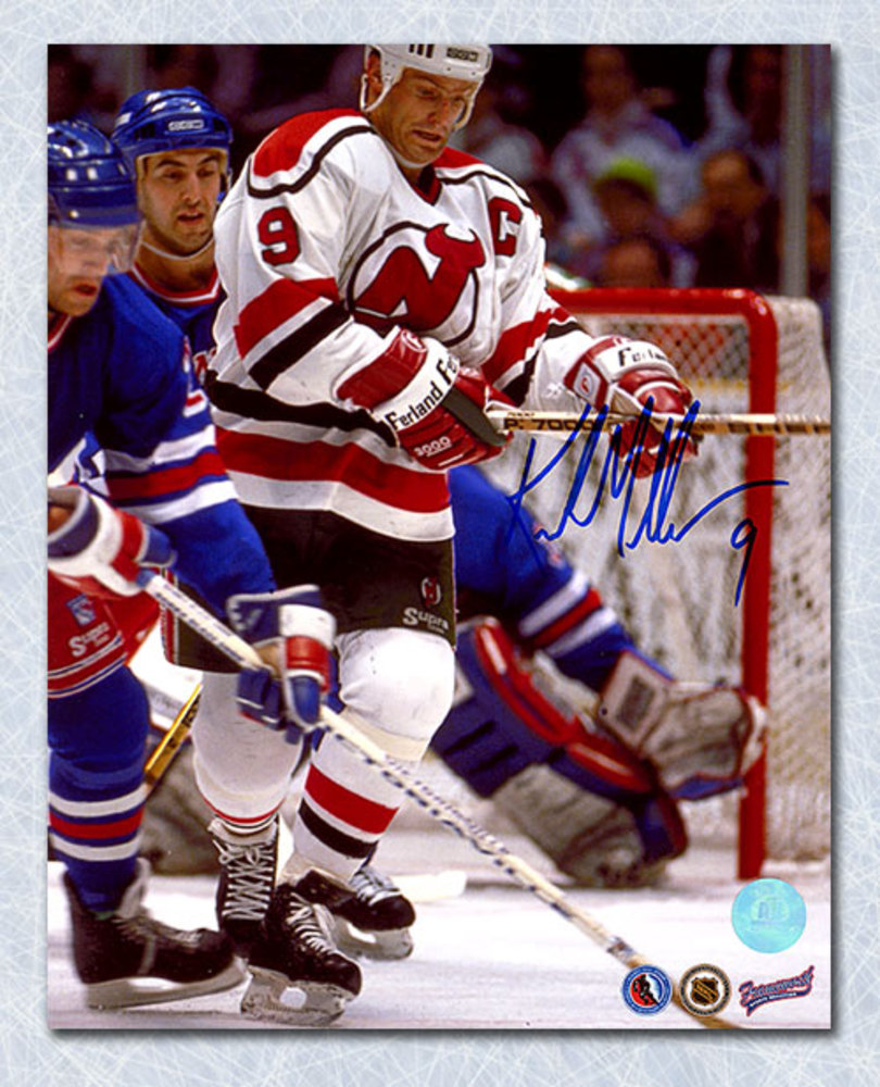 Kirk Muller New Jersey Devlis Autographed 8x10 Photo
