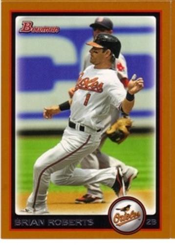 Photo of 2010 Bowman Orange #37 Brian Roberts