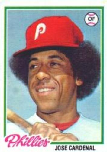 Photo of 1978 Topps #210 Jose Cardenal