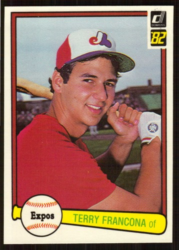 Photo of 1982 Donruss #627 Terry Francona RC