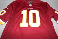 REDSKINS - ROBERT GRIFFIN III NIKE REPLICA JERSEY - SIZE ADULT M
