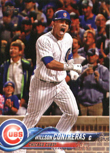 Photo of 2018 Topps #172 Willson Contreras