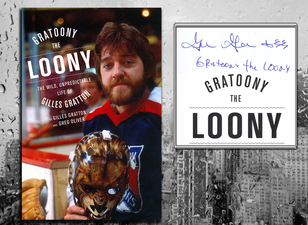 Gilles Gratton GRATOONY THE LOONY Signed Softcover Book