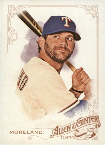 Photo of 2015 Topps Allen and Ginter #326 Mitch Moreland