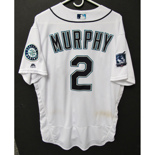 Photo of Seattle Mariners 2019 Tom Murphy Game-Used Jersey - Edgar Martinez Hall of Fame Celebration Weekend - August 9-11