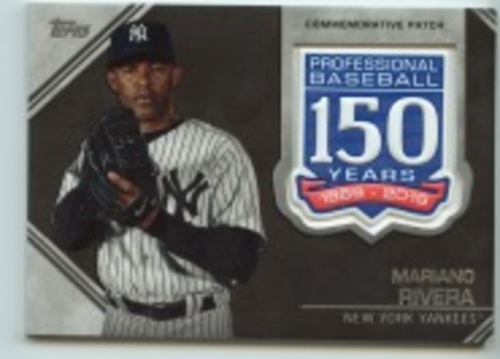 Photo of 2019 Topps Update 150th Anniversary Manufactured Patches #AMPMR Mariano Rivera
