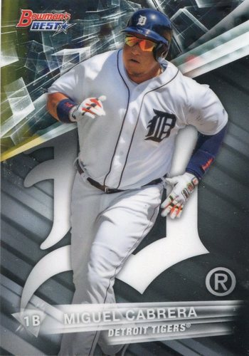 Photo of 2016 Bowman's Best #56 Miguel Cabrera
