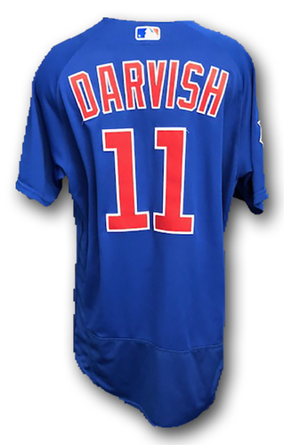 Photo of Yu Darvish Team-Issued Jersey -- 2019 Season -- Size 46