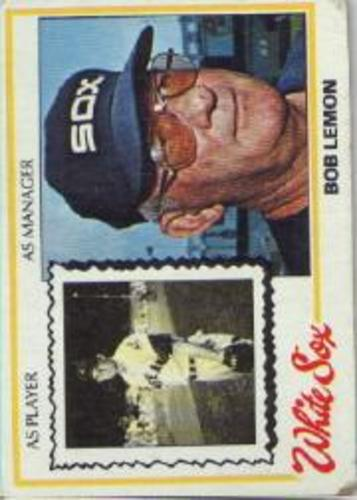 Photo of 1978 Topps #574 Bob Lemon MG