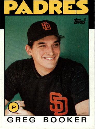 Photo of 1986 Topps #429 Greg Booker