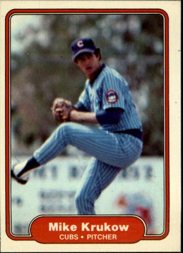 Photo of 1982 Fleer #598 Mike Krukow