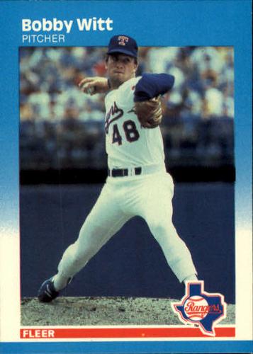 Photo of 1987 Fleer #143 Bobby Witt RC