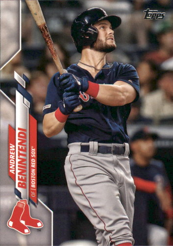 Photo of 2020 Topps #196 Andrew Benintendi