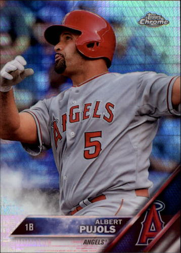 Photo of 2016 Topps Chrome Prism Refractors #46 Albert Pujols