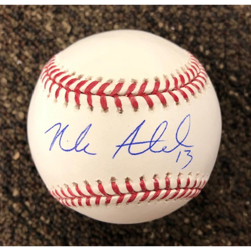 Photo of Nick Ahmed Autographed Baseball