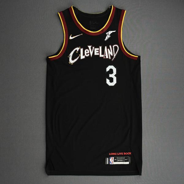 Image of Jeremiah Martin - Cleveland Cavaliers - Game-Worn City Edition Jersey - 2020-21 NBA Season