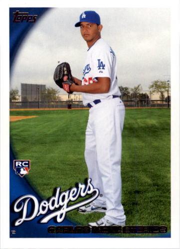 Photo of 2010 Topps #392 Carlos Monasterios RC