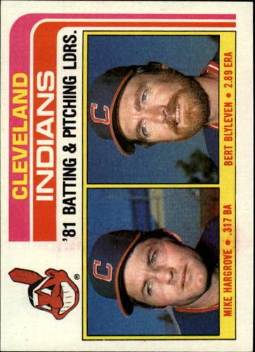 Photo of 1982 Topps #559 Mike Hargrove/Bert Blyleven TL