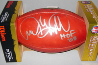 NFL - PATRIOTS ANDRE TIPPETT SIGNED AUTHENTIC FOOTBALL