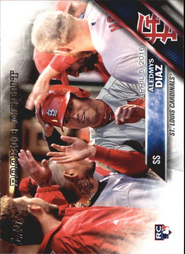 Photo of 2016 Topps Update #US44 Aledmys Diaz Rookie Card