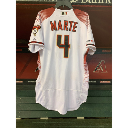 Photo of June 24, 2019 Game-Used Ketel Marte Jersey