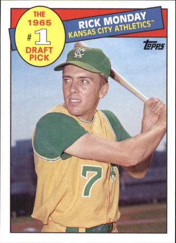 Photo of 2016 Topps Archives '85 Topps #1 Draft Pick #85DPRM Rick Monday