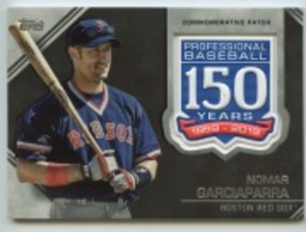 2019 Topps Update 150th Anniversary Manufactured Patches #AMPNG Nomar Garciaparra