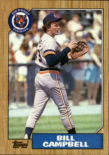 Photo of 1987 Topps #674 Bill Campbell