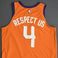 Jevon Carter - Phoenix Suns - Game-Worn Statement Edition Jersey - 2019-20 NBA Season Restart with Social Justice Message